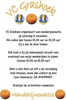 Mandarijnenactie VC Grashoek: zaterdag 6 november 2010