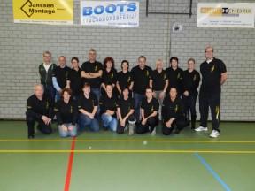 Coaches VC Grashoek in het nieuw