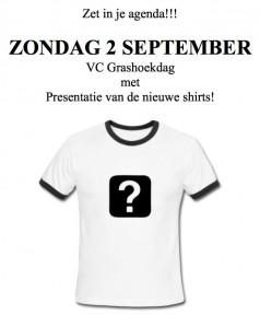 Nieuwe shirts VC Grashoek!